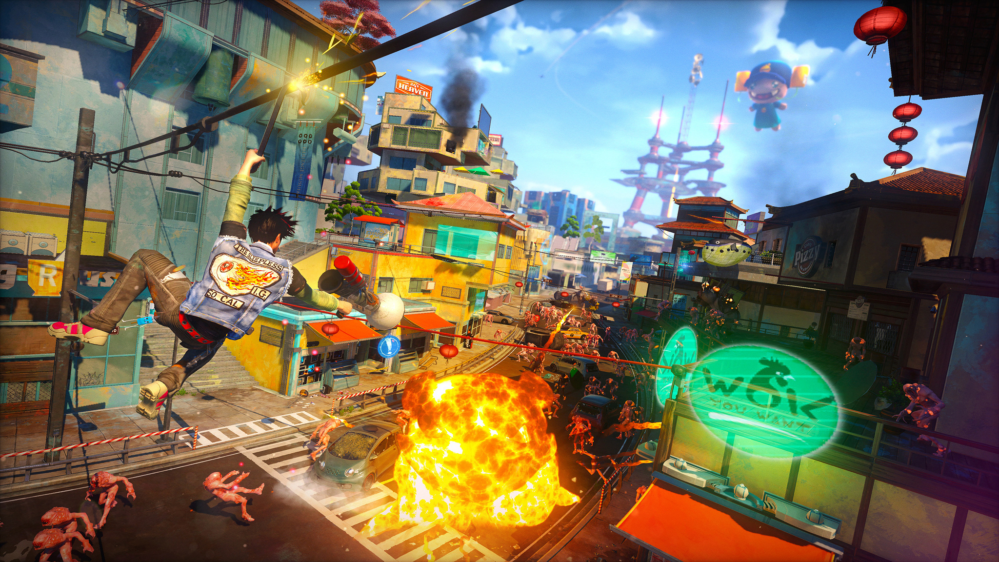 Sunset Overdrive на выставке Gamescom 2014