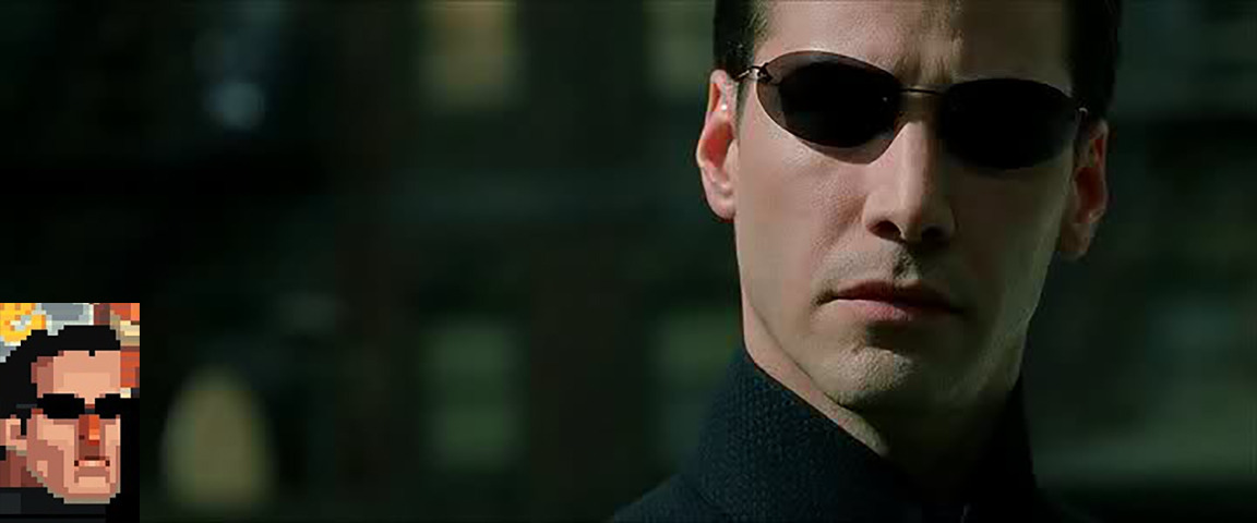 the matrix neo a struggle of How could the oracle (in the matrix) predict the future and neo's struggle to live with/overcome his what happens to neo at the end of the matrix revolutions.