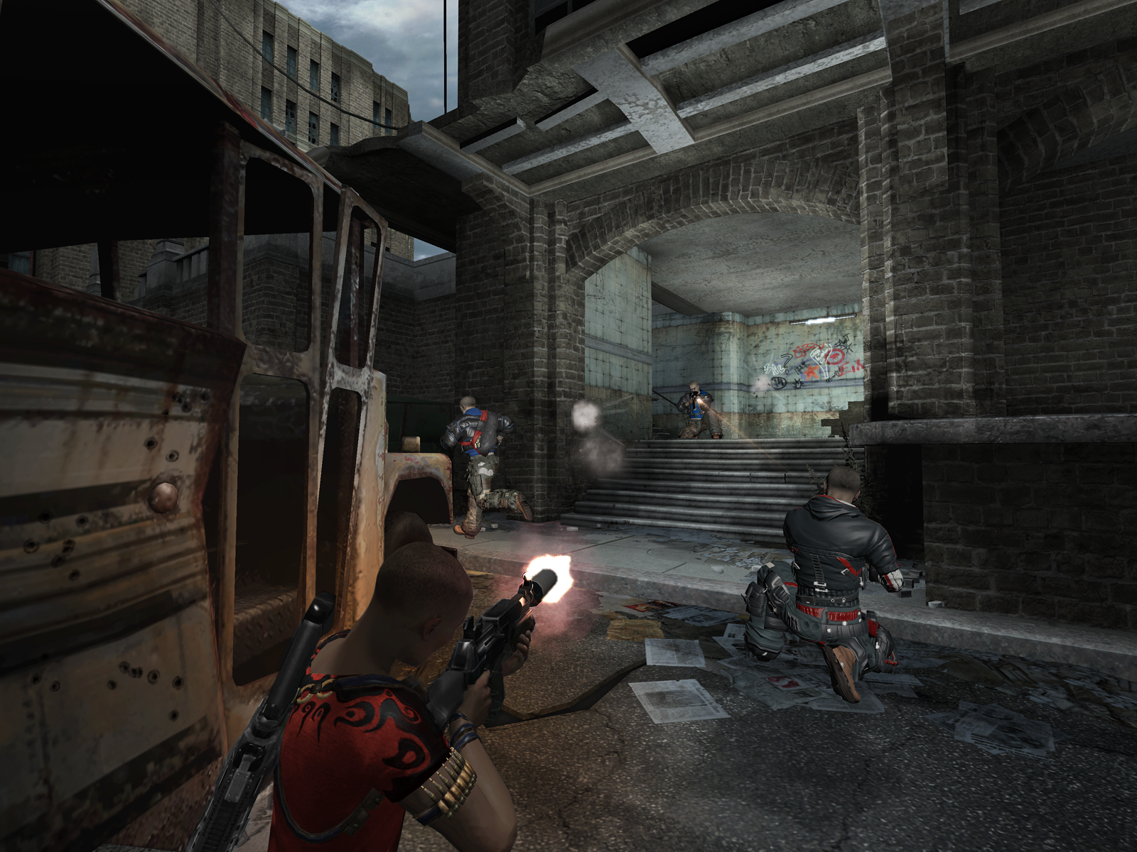 third person shooter video game - HD1600×1200