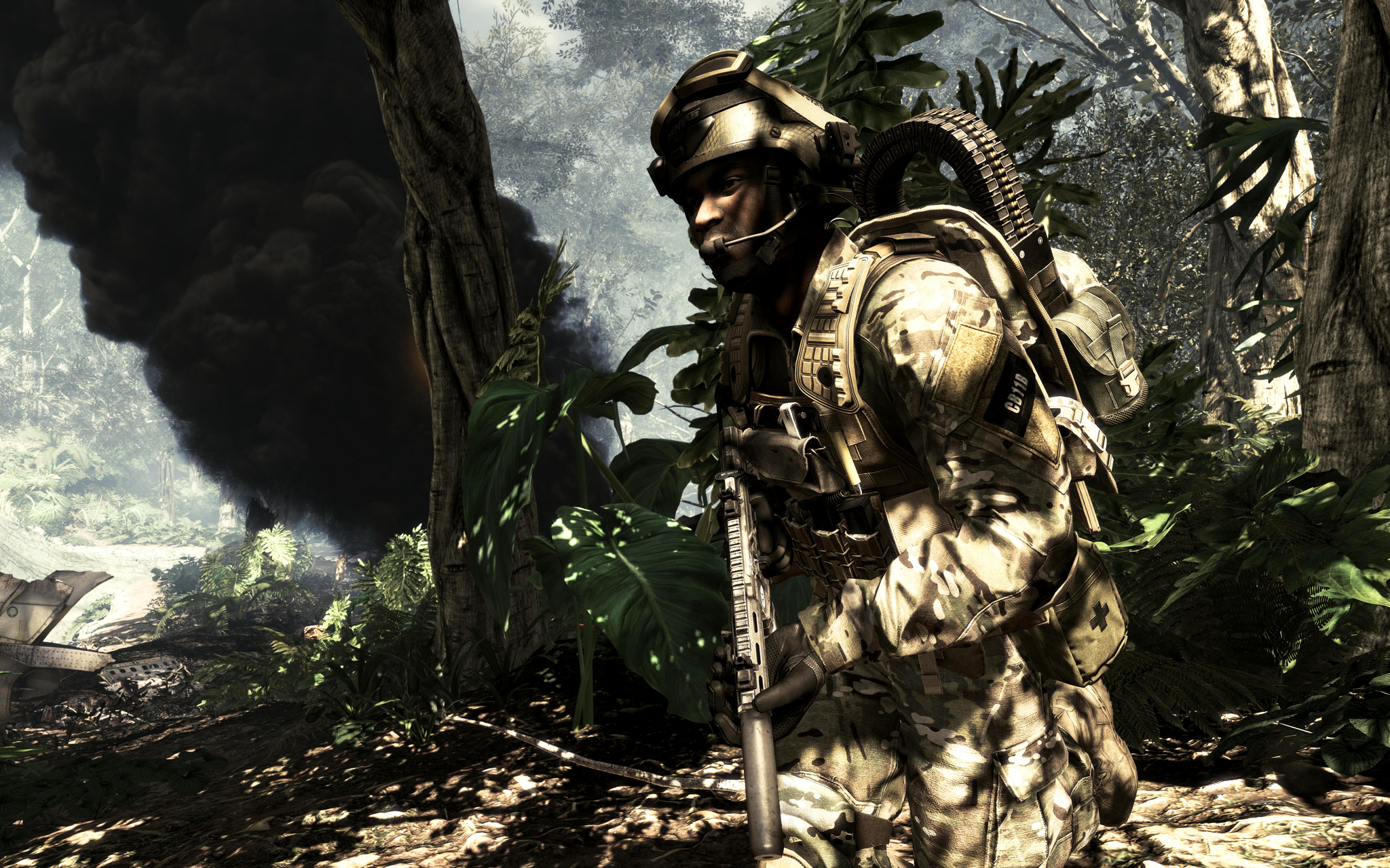 Outnumbered and Outgunned but Not Outmatched Call of Duty Ghosts is an extraordinary step forward for one of the largest entertainment franchises of alltime