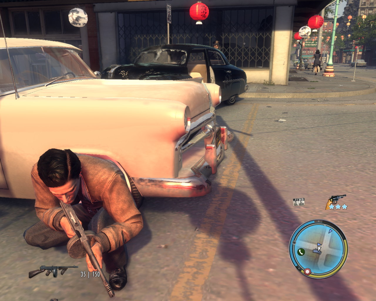 This item is incompatible with mafia ii.