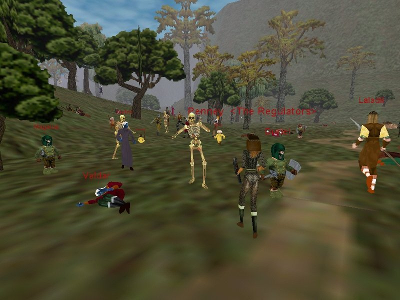 an analysis of everquest as a massive multi playing game