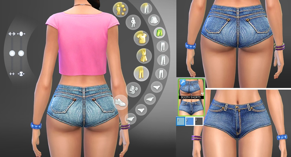 Booty Sims 2